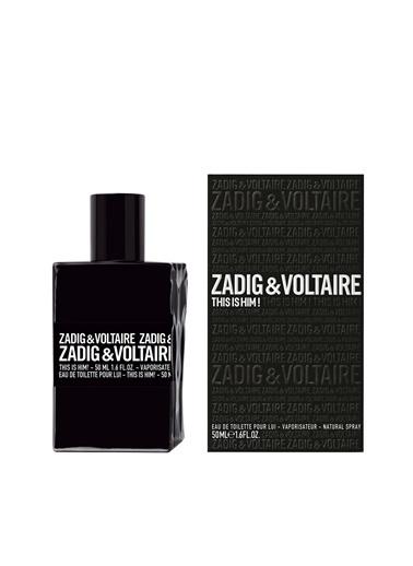 Zadig&Voltaire Zadig&Voltaire This is Him! Edt 50 ml Erkek Parfüm Renksiz